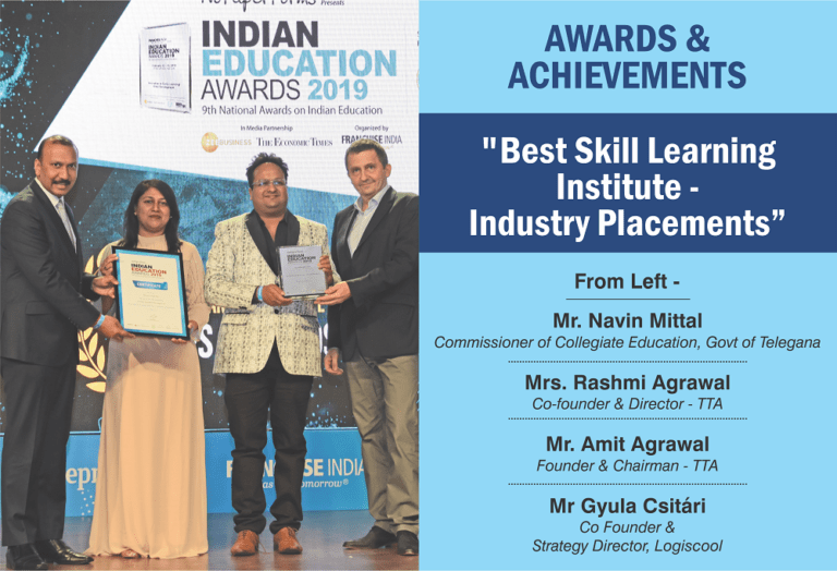 Best skill learning institute industry placements