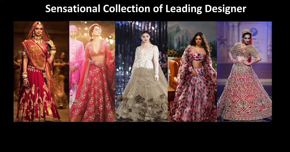 sensational collection of leading designers in india